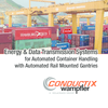 Preview: Energy & Data Transmision Systems for Automated Container Handling with Automated Rail Mounted Gantrys