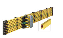 "Single Pole insulated Conductor Rails ""Single FlexLine 0815"""