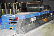 Steel coil transfer car