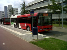 Electric Bus with Inductive Opportunity Charging IPT